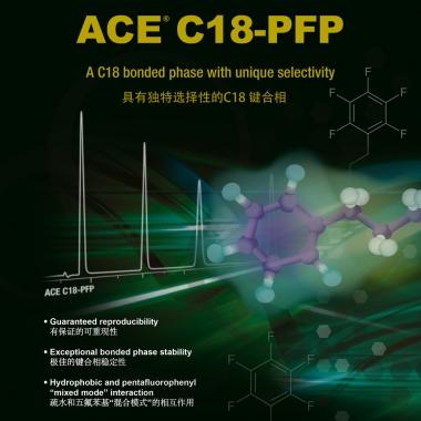 ACE C18-PFP 3μ 液相色谱柱