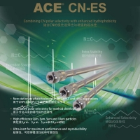 ACE CN-ES 色谱柱柱芯